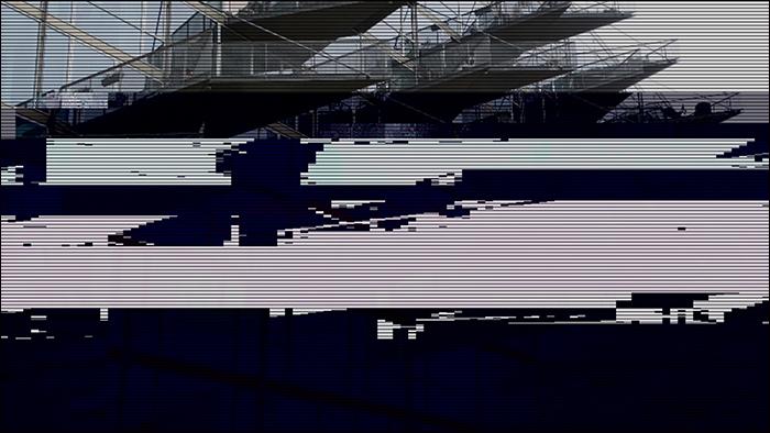 Glitched image - VM-Husene 3