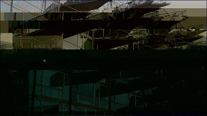 Glitched image - VM-Husene 4