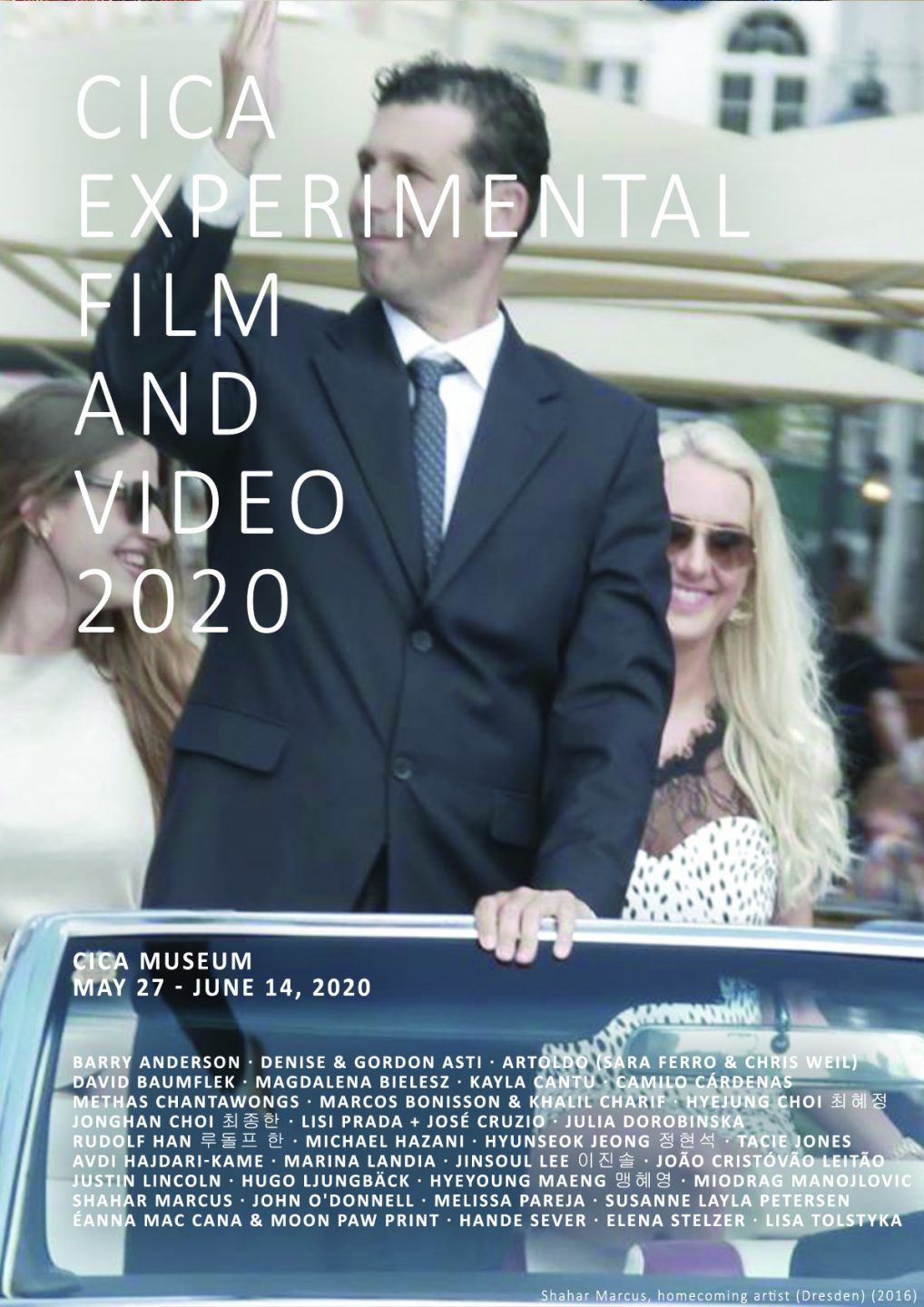 CICA Experimental Film and Video 2020 poster